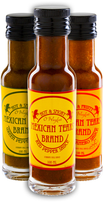 COBA Foods & Lifestyle Hong Kong - Mexican Tears - Chili sauces